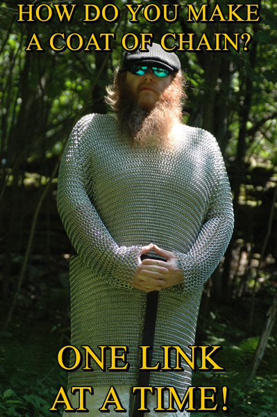 The Art of Chainmail Masters Course: How to be a Chainman and Not Chained by The Man